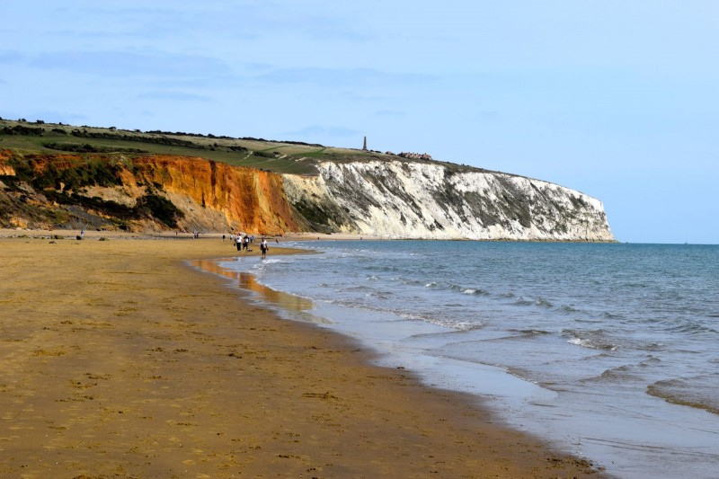 Yaverland Cliffs & Beach