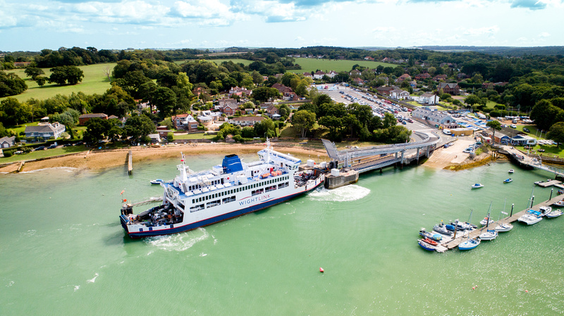 Fishbourne Car Ferry Port